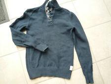 H&M L.O.G.G. Pullover Strick 158/164 Jungen blau Strickpullover