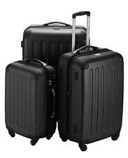 Hauptstadtkoffer Spree 3er Kofferset schwarz Koffer Gepäck Reisekoffer Trolley