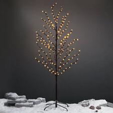 Albero Di Natale 100 Led Bianco Caldo 150cm Decorazione Interno Esterno Luci dfh