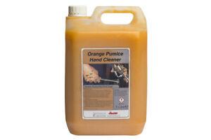 Orange Pumice Heavy Duty Hand Cleaner Garage Solvent Free - 5 LITRES