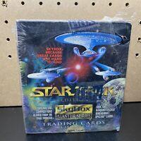 STAR TREK EDITION SKYBOX MASTER 1993 SERIES FACTORY SEALED TRADING CARD BOX!36pk
