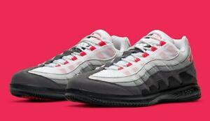 NikeCourt Zoom Vapor X Air Max 95 'Solar Red' Men's Size 14 [DB6064-100]