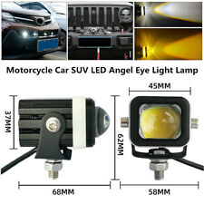 2PCS 25W LED Angel Eye Light  Lamp Light For Motorcycle Car SUV Universal Part