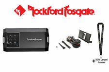 Rockford Fosgate T400X4ad 4-Channel Amplifier & RFRNGR-K8 Amp kit mounting plate