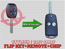 New Key Remote With Chip Transponder Entry Transmitter For Honda CRV Jazz Kfh2J