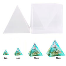 Super Pyramid Silicone Model DIY Resin Craft Jewelry Mold.Plastic Frame PR
