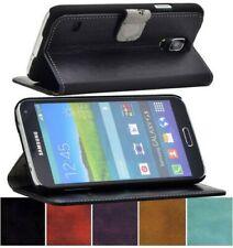 Exclusivo Funda Suncase Auténtico Cuero Libro Móvil Bolso Bumper para HTC One M9