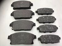 VAUXHALL INSIGNIA 1.8 PETROL 2008 TO 2014 FRONT AND REAR BRAKE PADS TOP QUALITY