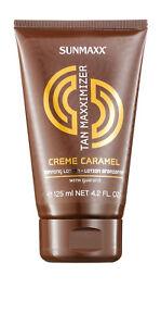 Sunmaxx Tan Maxximizer Creme Caramel Tanning Lotion 125 ml Solariumkosmetik