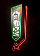 Jagermeister Bar Novelty LED Neon Light Sign 3D 2 Sided Arrow Rare!!