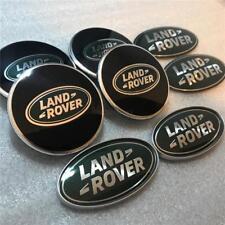 LAND ROVER FREELANDER 1 BLACK~GREEN  WHEEL CENTRE CAPS GRILL DOOR SIDE BADGE SET