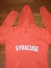 NEW Syracuse Orange WOMEN OLD SCHOOL VINTAGE HOODED SWEATSHIRT SZ:L