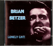 BRIAN SETZER lonely cat ! CD Stray Cats live during USA Tour 1988