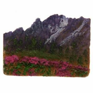 Summer Mountain Fields of Flowers Magnet