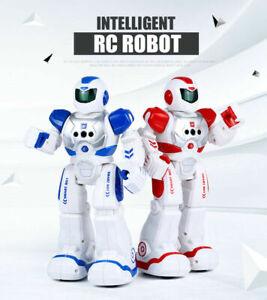 Kids RC Smart Robot Toy Remote Control Interactive Dancing Singing Walking Toys
