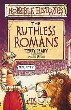 NEW -  RUTHLESS ROMANS  HORRIBLE HISTORIES (OLD COVER)