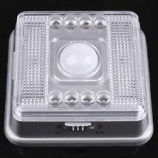 Auto 8 LEDs Light Silver Sensor Sensitivity Motion Detector Lamp for Home