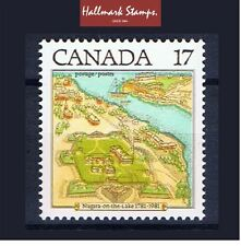 canada stamps sg1020 Bicentenary of Niagara on the lake... Mint