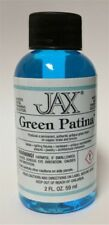 Jax GREEN Stained Glass Patina Tools Supplies - 2 oz.