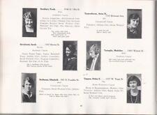 1921 (FEBRUARY) WILLIAM PENN HIGH SCHOOL FOR GIRLS YEARBOOK, PHILADELPHIA, PA