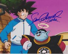 Dragon Ball Z Voix de Guku + King Kai Sean Schemmel Signé 8X10 Photo