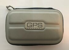 GPS Traveler Hard Shell Case With Interior Pouches And Carabiner Hook
