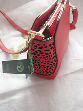 VERDE small bag new with detachable strap, red