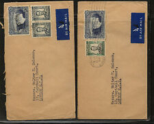 Southern   Rhodesia   2  covers   to  London           KL0611