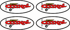 "4 Vintage Cessna Decals  4.5"" FREE SHIPPING"