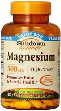 Sundown Magnesium 500mg Caplet 180ct