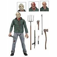 Friday the 13th Part 3 Jason Ultimate 7-Inch Scale Action Figure NECA