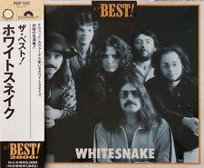 Whitesnake - The Best! Japan CD