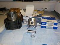 Fiat 500  Fiat 126 Kolben Zylinder mit Zubehöhr satz 2 Stück NEU 77mm
