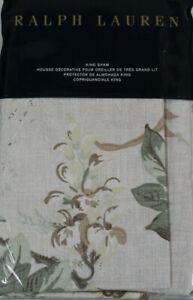 RALPH LAUREN Annandale KING Shams LINDSLEY Blush NEW NWT $130
