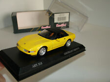 1/43 CHEVROLET CORVETTE ZR-1 SOFT TOP YELLOW by DETAIL CARS