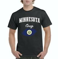 Minnesota Guy  Men Shirts T-Shirt Tee