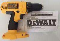 """NEW DeWALT DC759 DC759B 18V 18 Volt Compact 1/2"""" Cordless Drill Driver"""