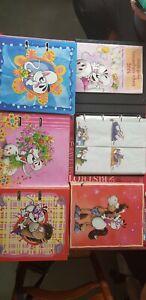 ENORME COLLECTION de feuilles, enveloppes et timbres Diddl + CLASSEURS