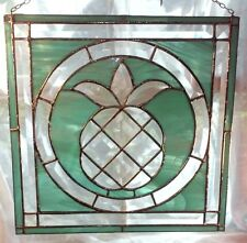 Pineapple Square Stained Glass Made In Usa