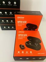 Mpow M30 TWS Wireless Earpiece Bluetooth 5.0 Headphone Sport Stereo Bass Earbuds