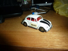 Corgi Toys Whizzwheels no.373 Volkswagen 1200 POLICE Car , GOOD EXAMPLE