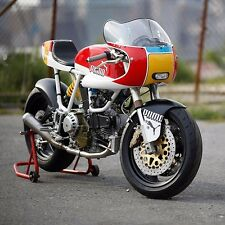 Cafe racer front fairing & windscreen rickman style imola no hole