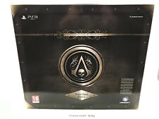 ASSASSIN'S CREED IV BLACK FLAG THE BLACK CHEST EDITION - PS3 - NEW SEALED PAL