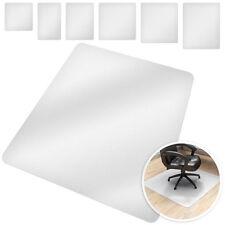 Esteras de Protección para Suelo Sillas Oficina Habitación Polietileno Blanco