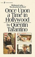 Quentin Tarantino-Once Upon a Time in Hollywood PB BOOK NUEVO