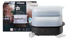 Tommee Tippee Black Super-Steam Electric Steriliser black - Brand new