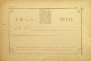 SPAIN 10c UNUSED TARJETA POSTAL STATIONERY CARD