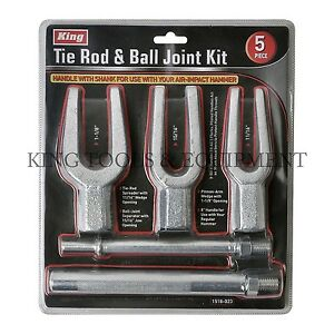 New KING Tie Rod Ball Joint & Pitman Arm Separator, 3 Sizes Pickle Fork Spreader