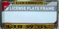 Columbus Crew Chrome Metal LASER License Plate Tag Frame Cover MLS Soccer Club