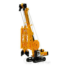 KDW 1/64 Scale Diecast Trenching Machine Crane Construction Equipment Metal Toys